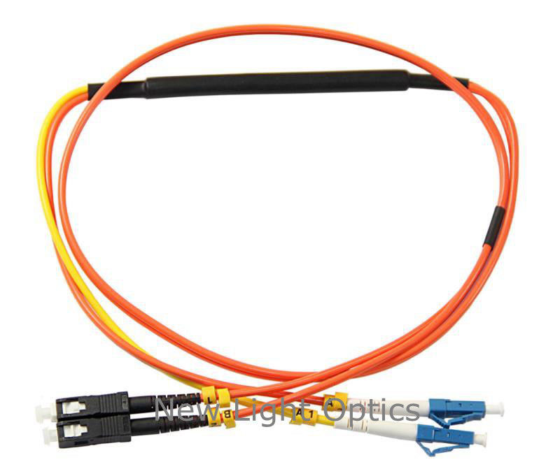 Duplex 62.5/125 Optical Fiber Patch Cord / Fiber Optic Mode Conditioning Jumping Cable
